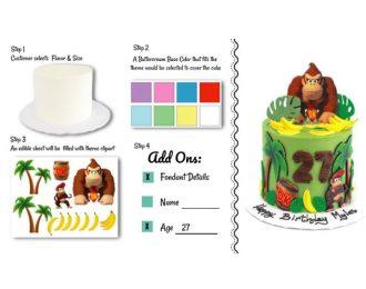 Flash Bash Cake