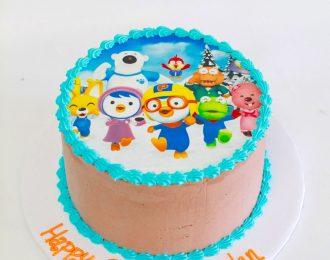 Edible Printouts Cake