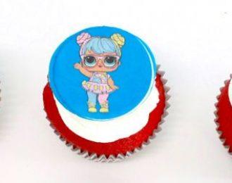 Edible Printout Cupcakes (Dozen)