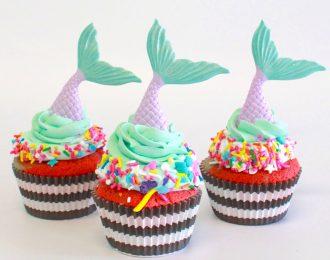 Mermaid Cupcakes (Dozen)